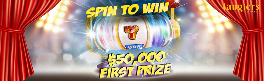Tangiers Casino Spin to Win Promotion