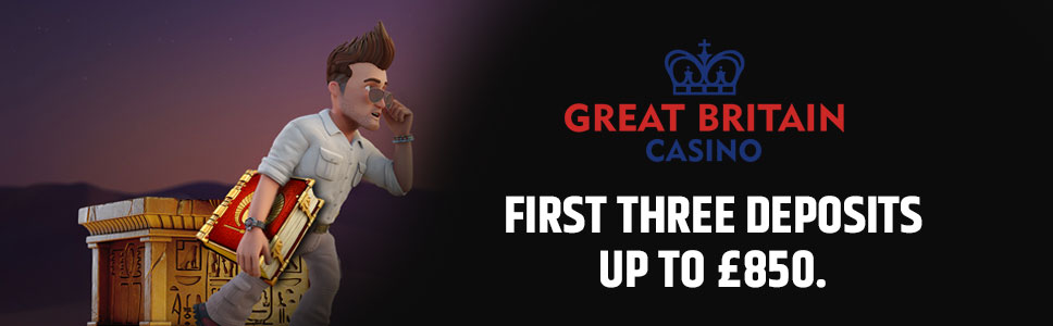 The Great Britain Casino Welcome Bonus