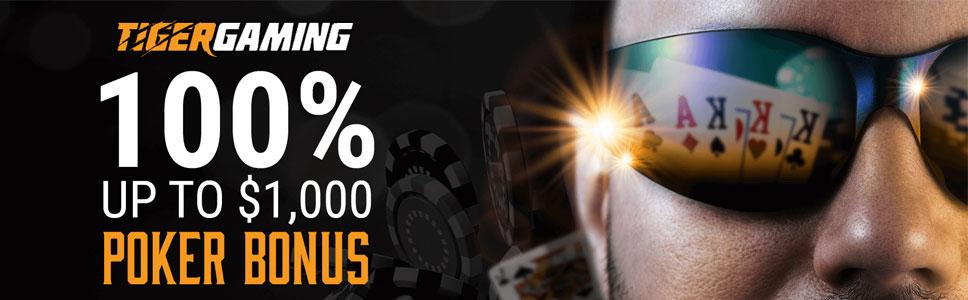 Tiger Gaming Casino Welcome Bonus