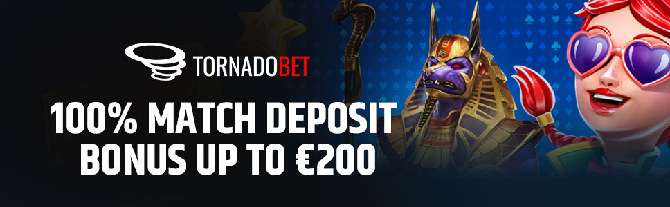 Tornadobet Casino Welcome Bonus