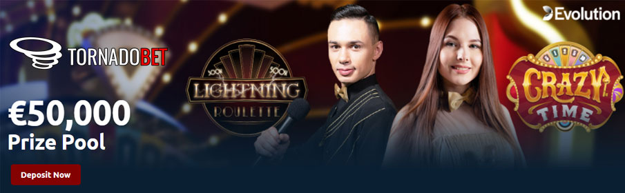 the Winter Sprint Promotion of Tornado Bet Casino