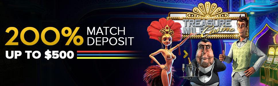 Treasure Mile Casino New Player Offer