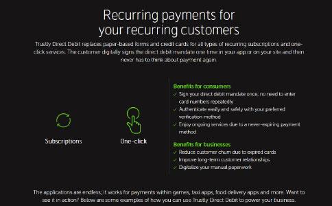 Trustly Direct Debit