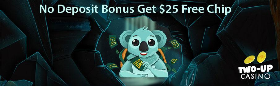 Two Up Casino No Deposit Bonus