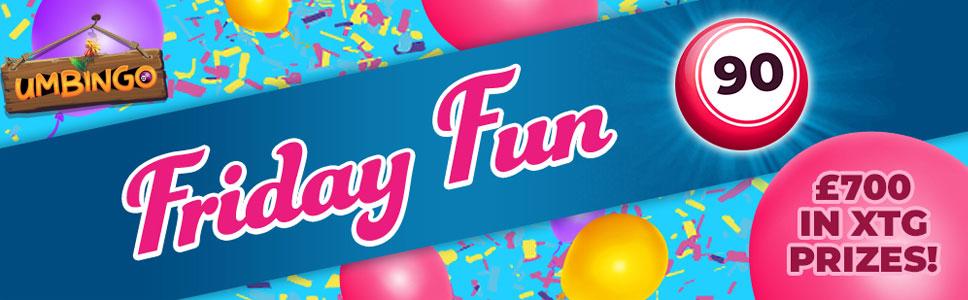 UmBingo Friday Fun Bonus