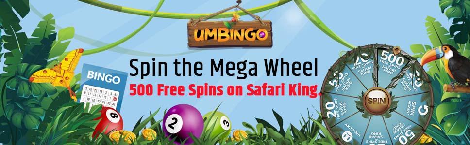 Umbingo Free Spins Offer