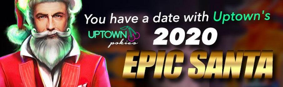 Uptown Pokies Casino Christmas – $100 Bonus & 75 Free Spins