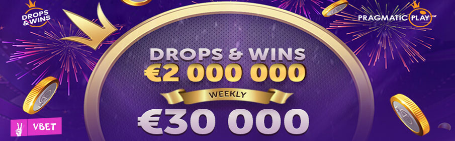 VBet Daily Drops & Win Offer