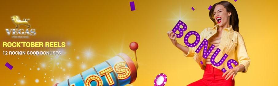 Vegas Paradise Casino Monthly Bonus