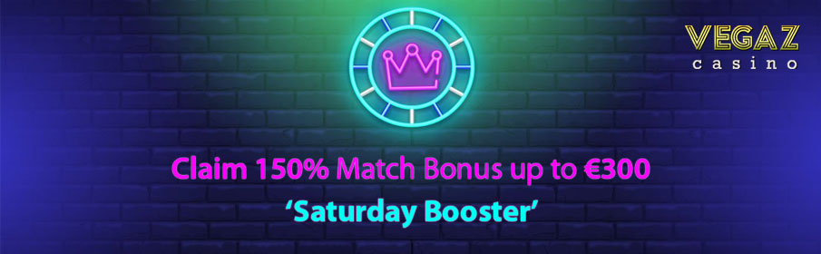 Vegaz Casino Saturday Promotion