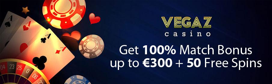 Vegaz Casino Third Deposit Bonus