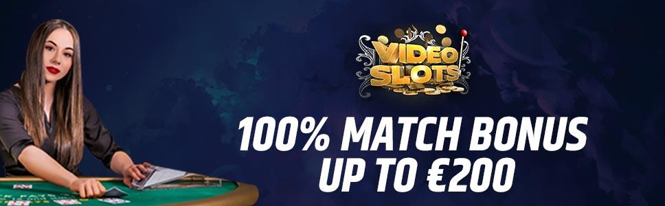 VideoSlots Casino Welcome Bonus