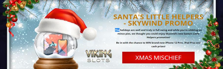 the Viking Slots Casino Christmas Promotions