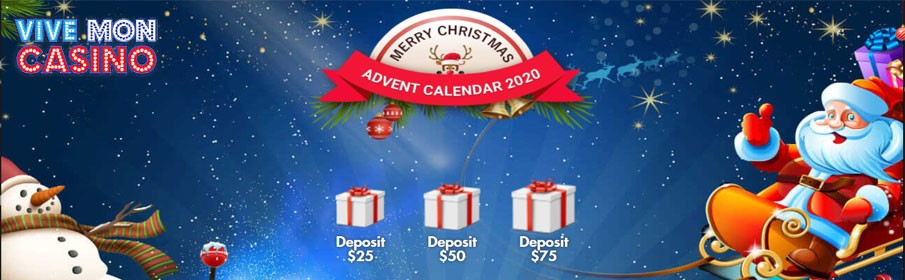 Advent Calendar Promotion to Get Daily Bonuses this Christmas at Vive Mon