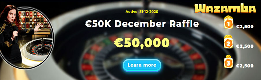 Cash Pool of €50,000 via 'Jingle Wins' Christmas Tournament