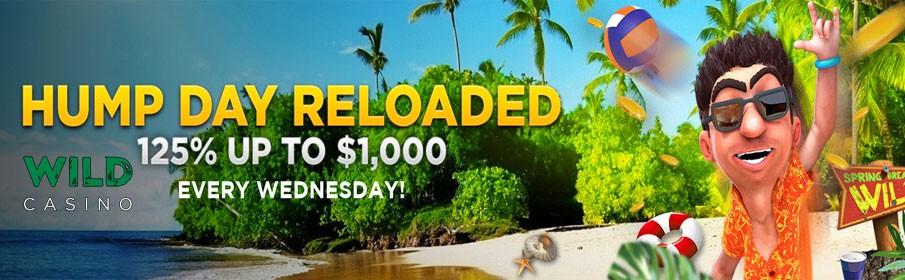Wild Casino Hump Day Reloaded Bonus