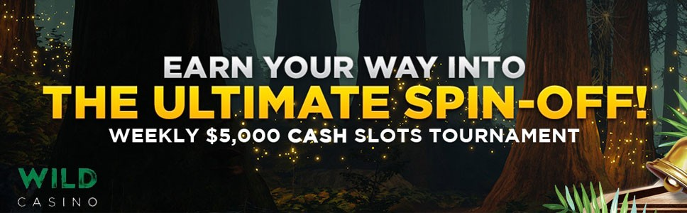 The wild Casino Ultimate Spinoff Bonus