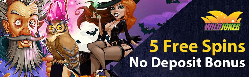 Wild Joker Casino 5 Free Spins No Deposit Bonus On Online Pokies