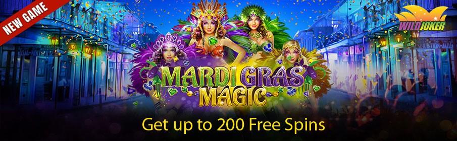 Wild Joker Casino Party it up Promotion