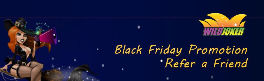 Wild Joker Casino Black Friday Bonus