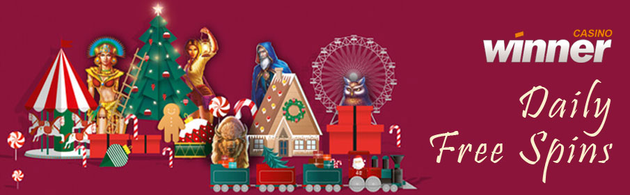 Christmas Calendar at Winner Casino