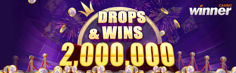 Winner Casino Daily Drops & Wins Promotion