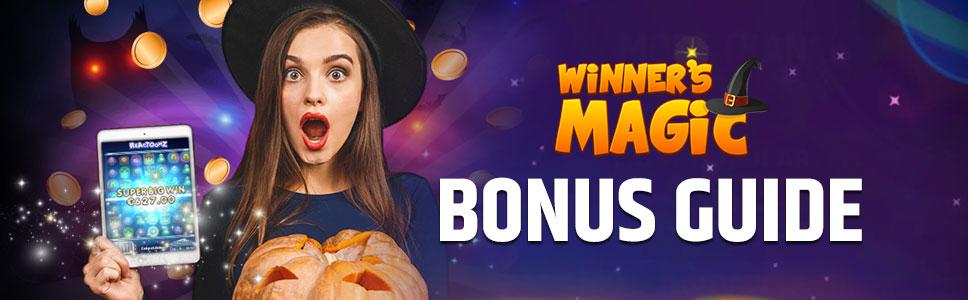Winners Magic Bonuses & Promotions