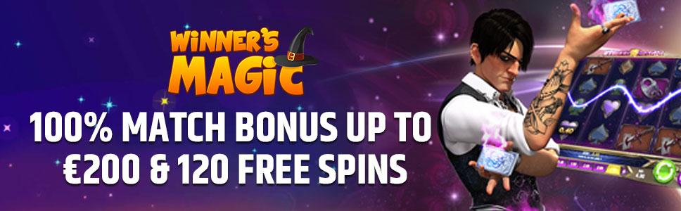 Winners Magic Casino Welcome Bonus