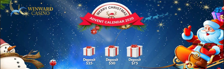 Advent Calendar Promotion & Get Daily Bonuses at Winward Casino