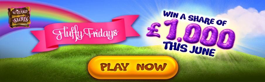 Wizard Slots Casino Fluffy Fridays Bonus