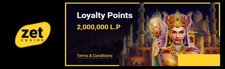 Zet Casino Loyalty Points – Redeem for Bonuses