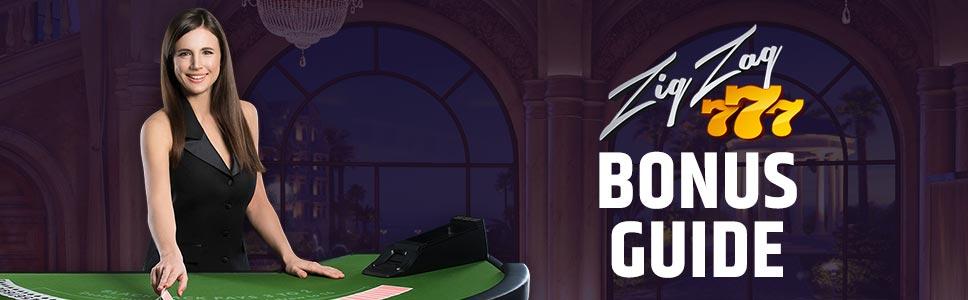 ZigZag Casino Welcome Bonus